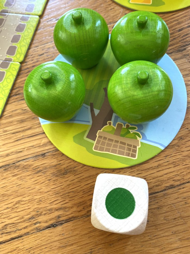 Haba First Orchard Green Apples closeup