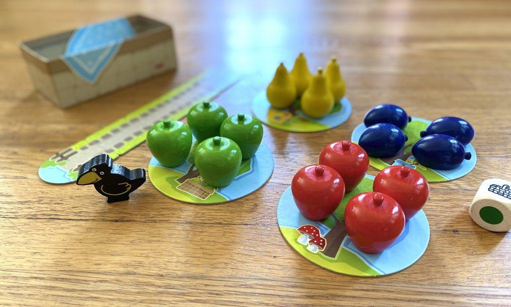 Haba My First Games - First Orchard Contents