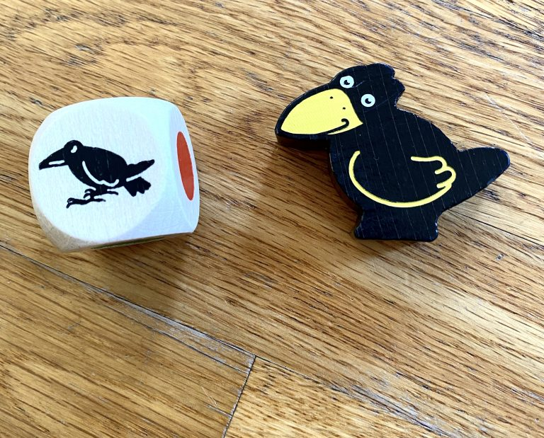 Haba First Orchard - raven and dice