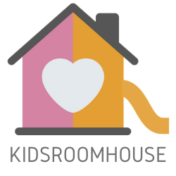 Kidsroomhouse logo with tagline