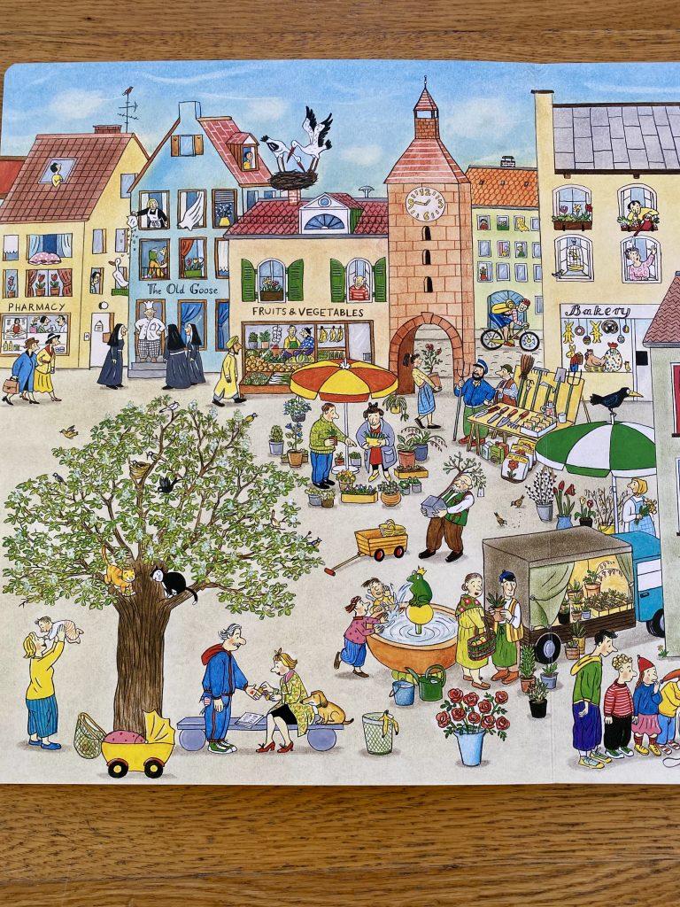 Susanne Rotraut-Berner Spring Wimmelbook