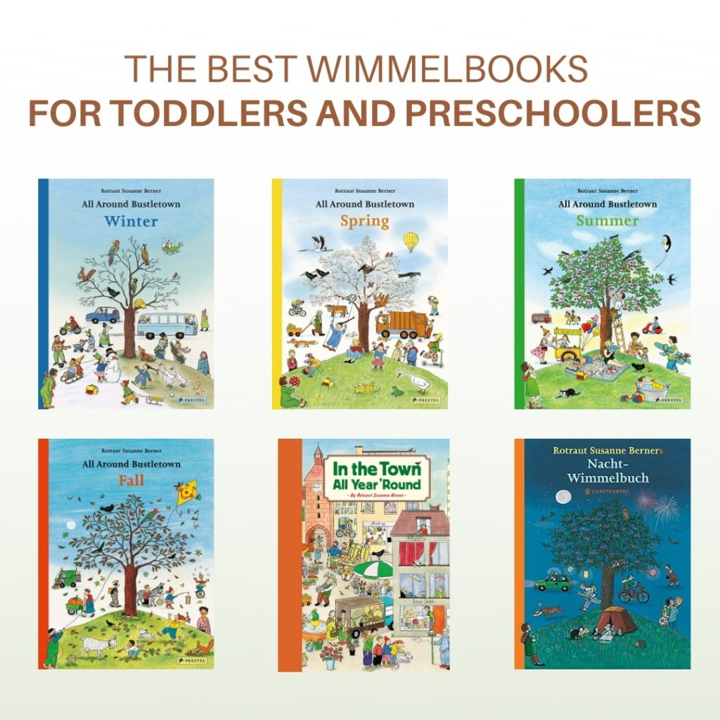 The best Wimmelbooks for toddlers and preschoolers