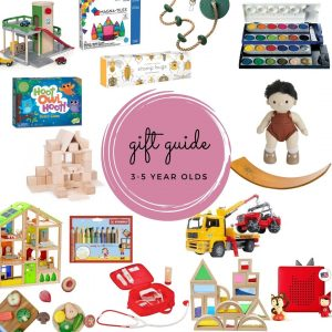 Gift guide for 3-5 year olds